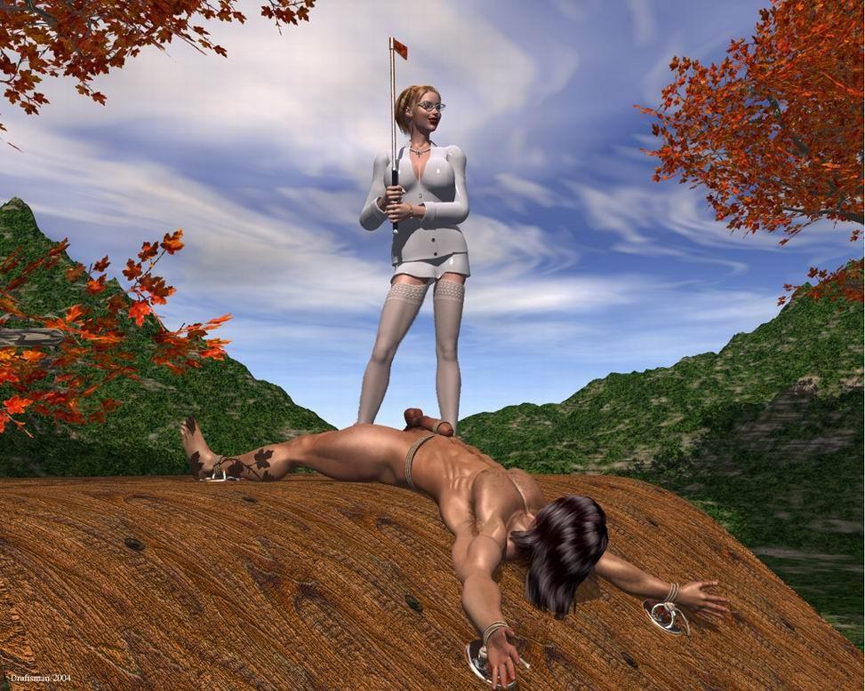 image Sissy training with mistress v