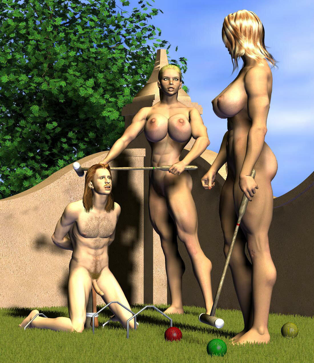 Amazon woman warriors slaves
