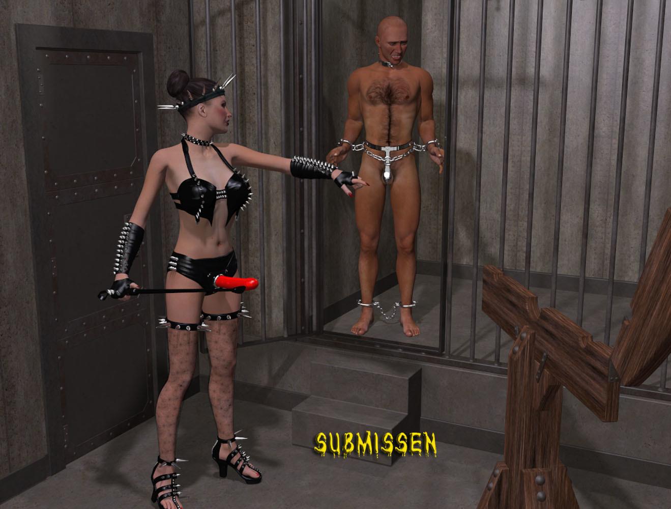 3d femdom hentai galleries