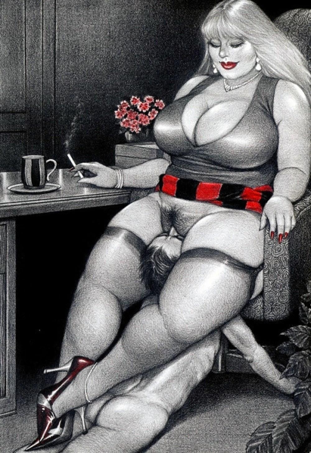 Знал, что толстые госпожи бдсм покачала головой