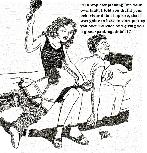Why husbands spank fact