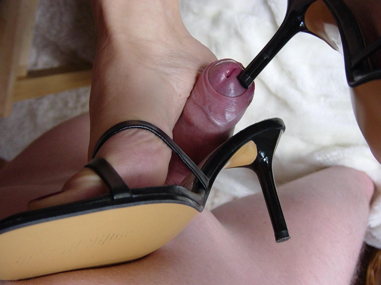 Babe High Heels Blowjob