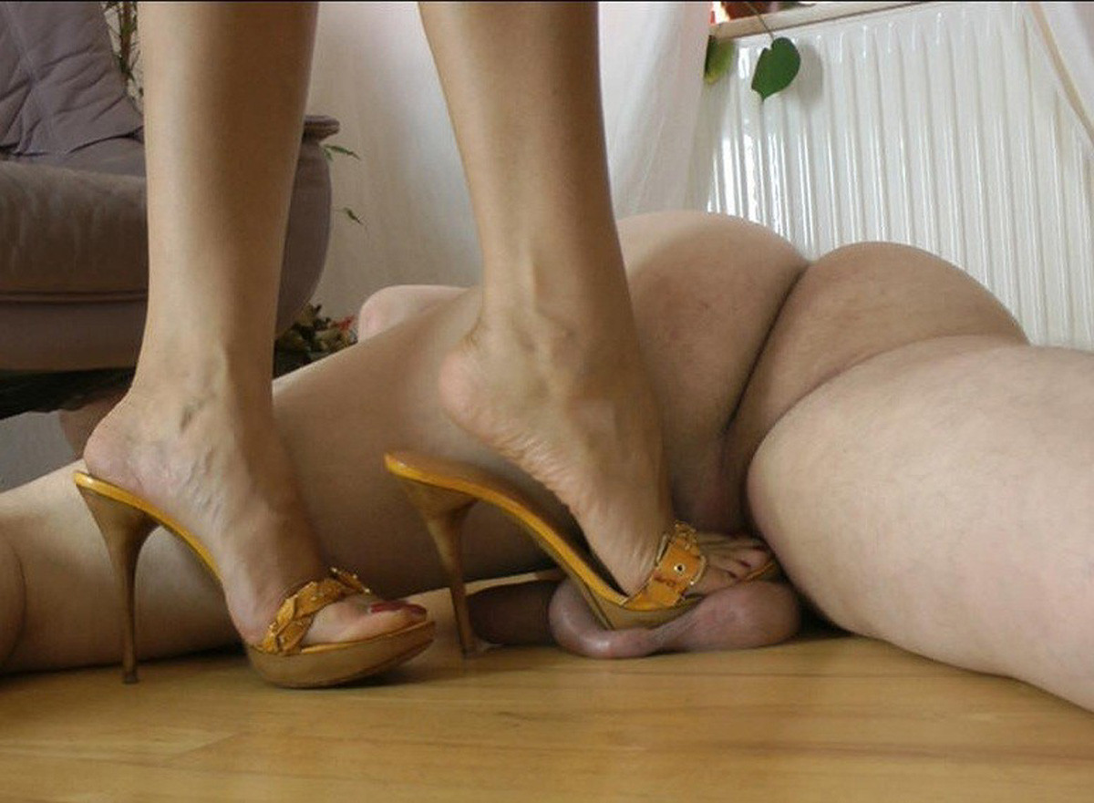 Cock and ball trample