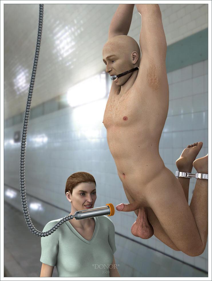 3d femdom comics