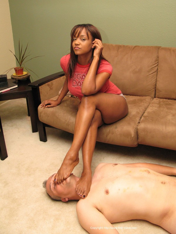 Ebony foot worship tumblr
