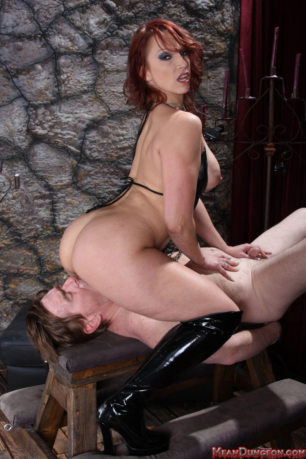 3 dommes 2 slaves amp a rubberdoll 5