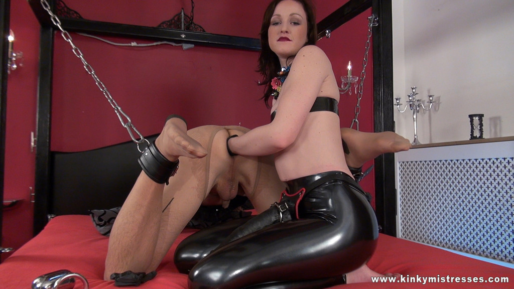 kinky anal training mistress