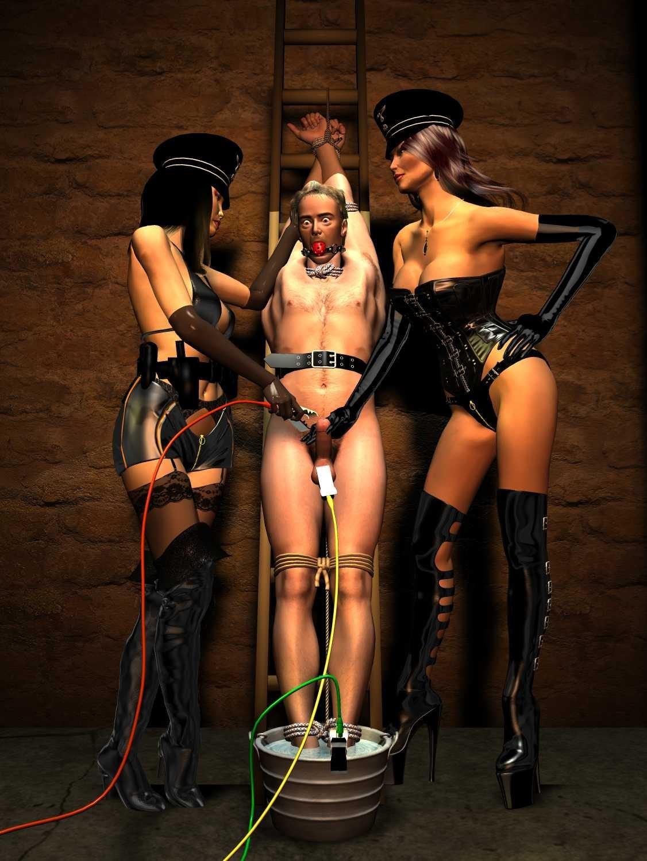 That skirt! femdom torture gallery good