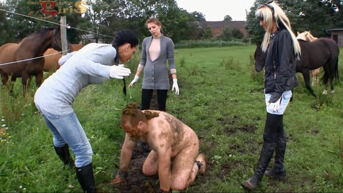 Boot worship and trampling 8