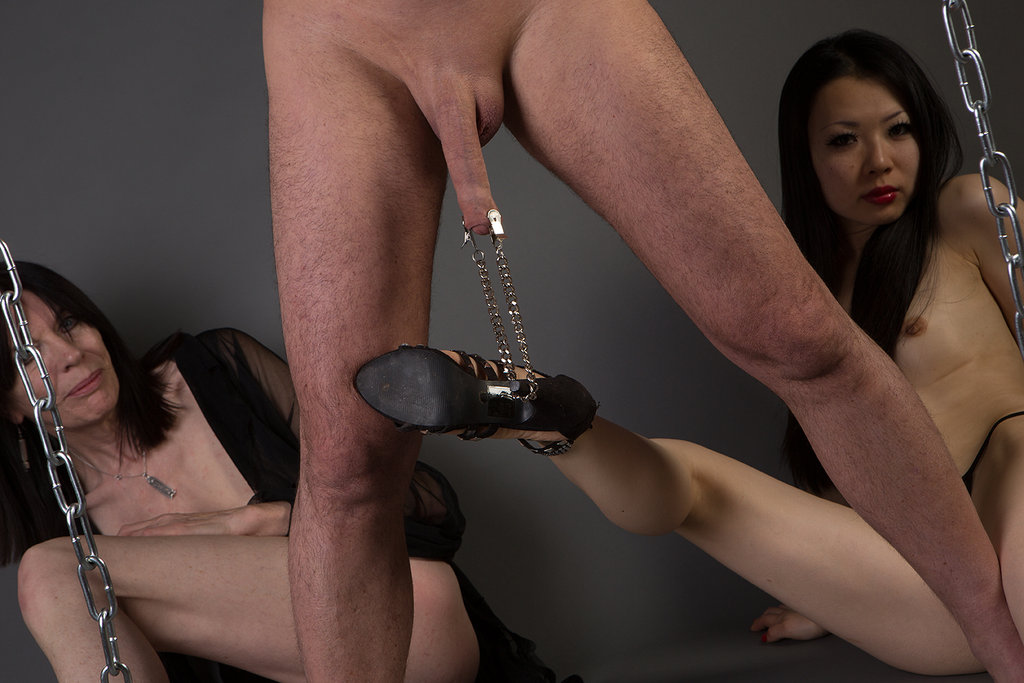 Hardcore cock and ball torture