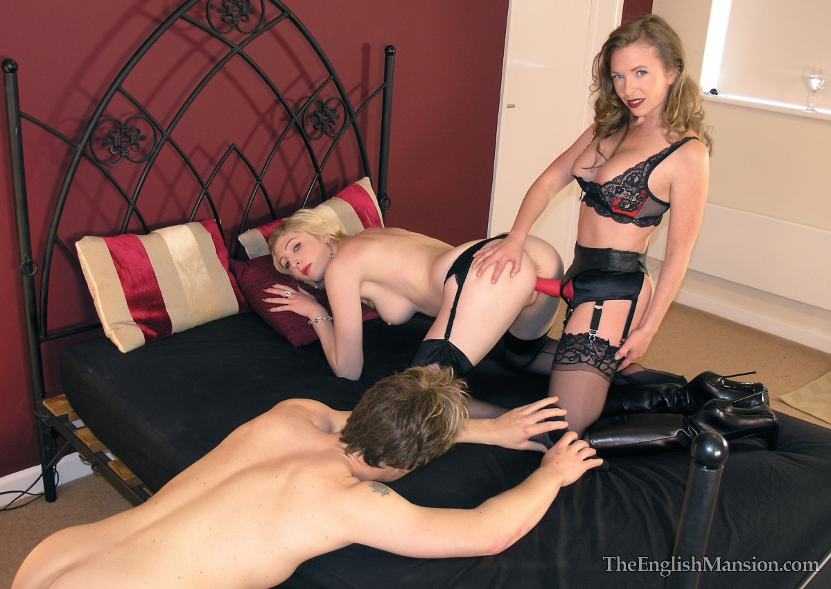 Mistress shows slave couple a hot mix of pain and pleasure 9