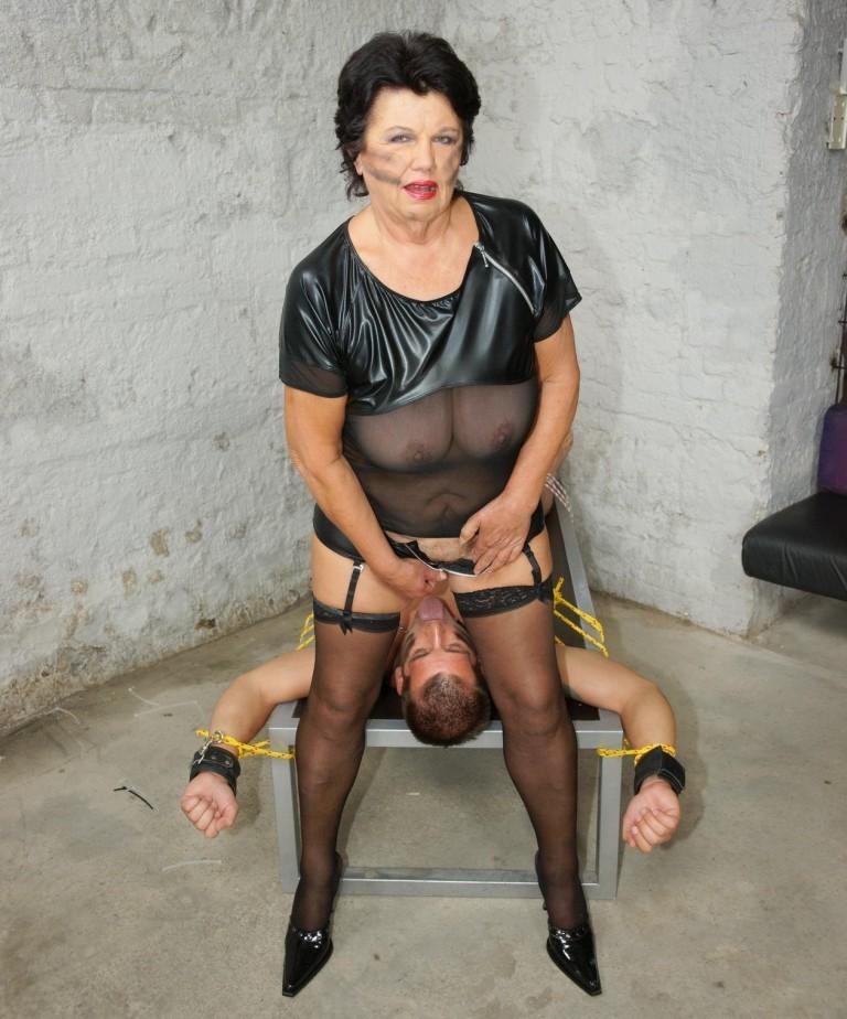 Granny dominatrix