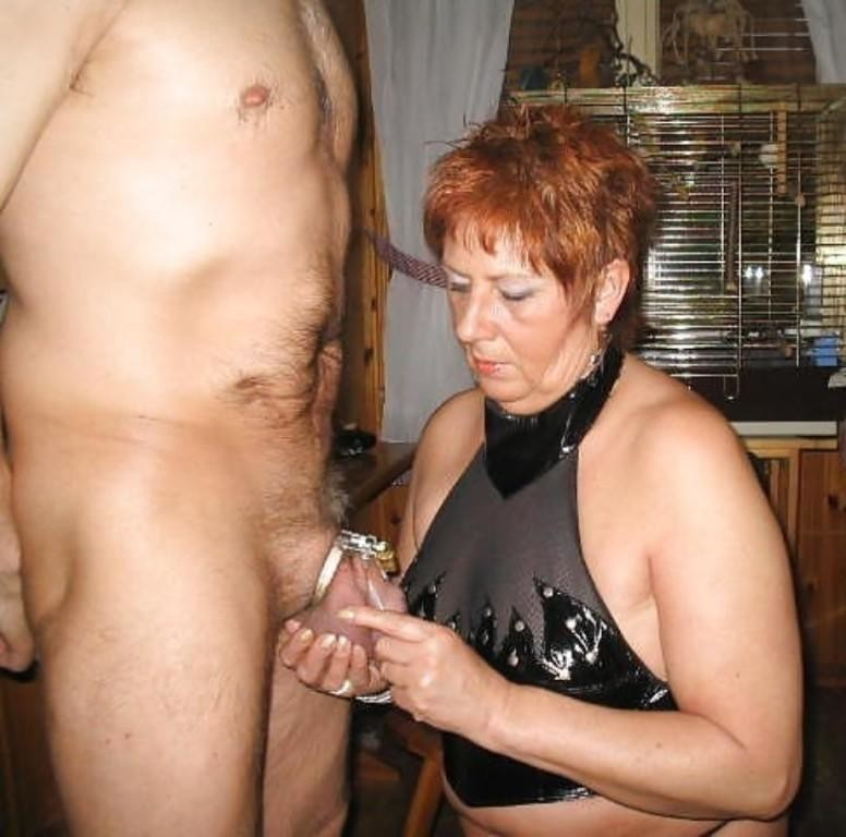 Older domination mistress