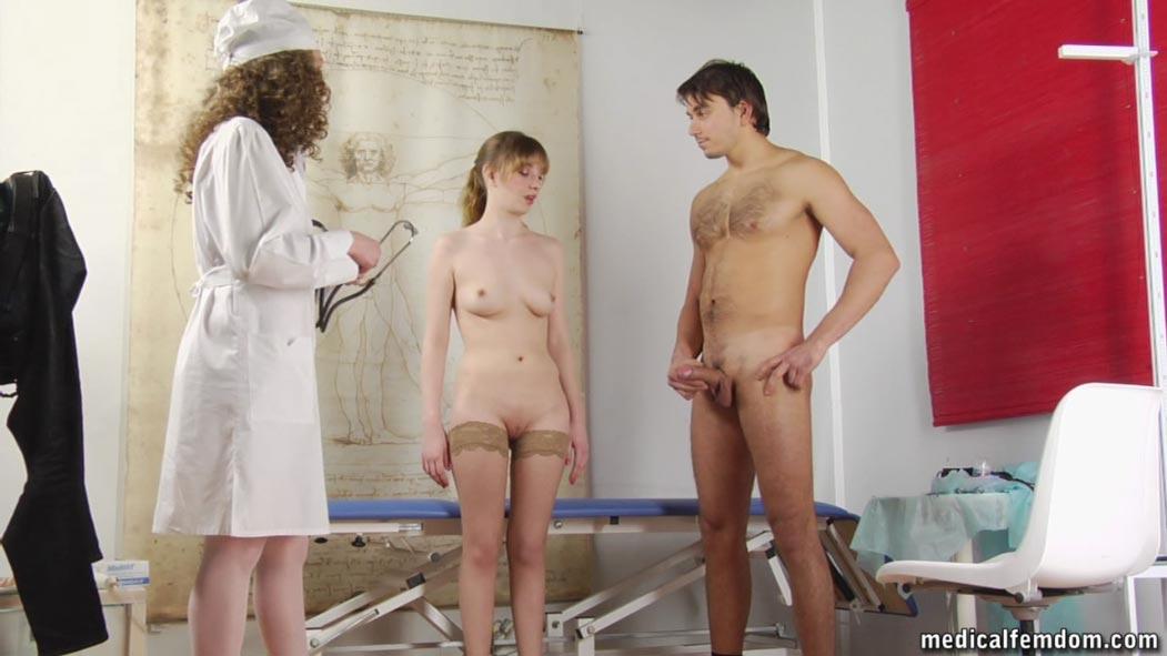 русское видео медосмотр женщин для взрослых
