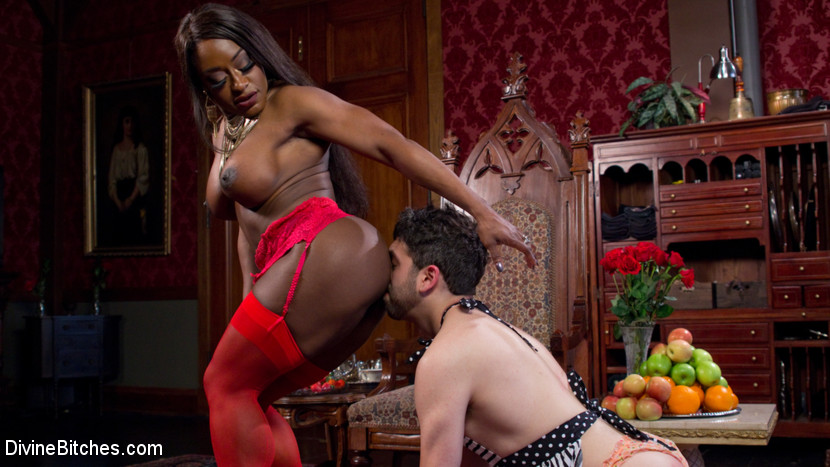 black muscle bitch sex