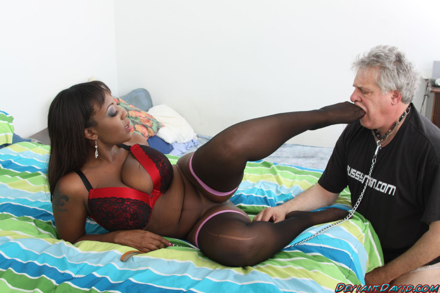 Black dick monster penetration