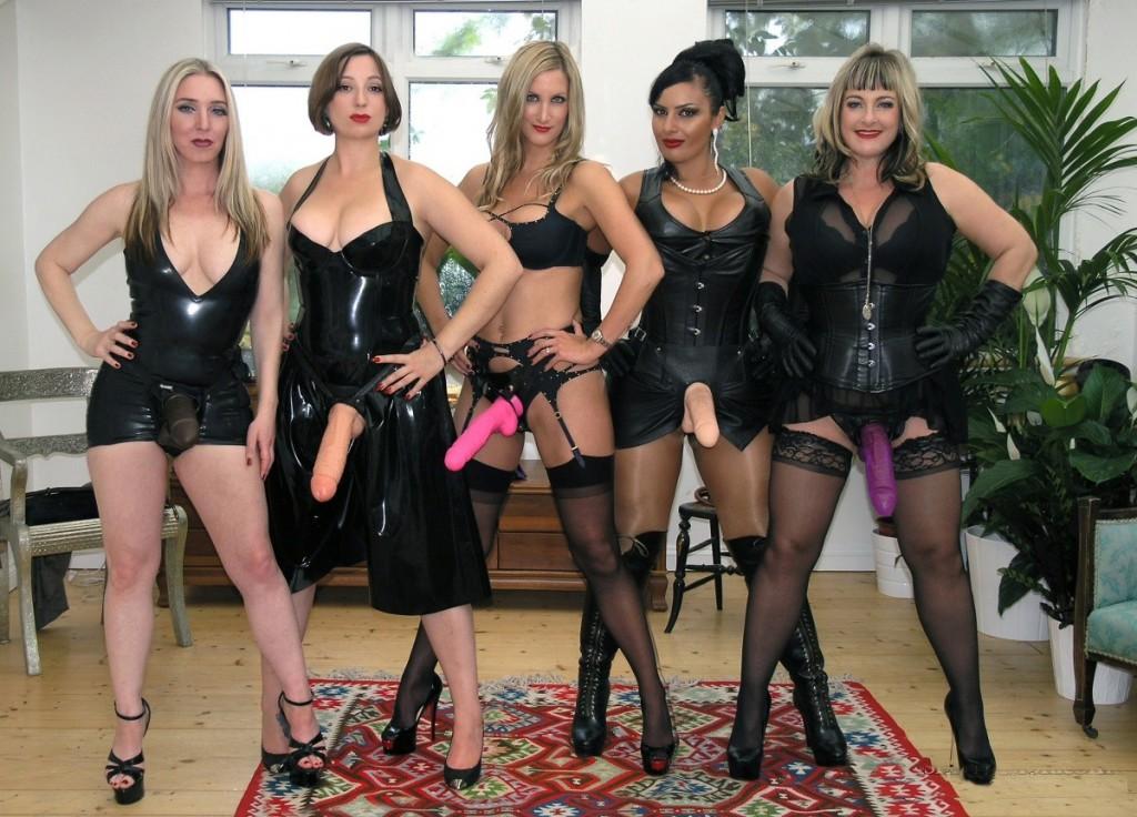Huge Strapon Mistresses | DomZine