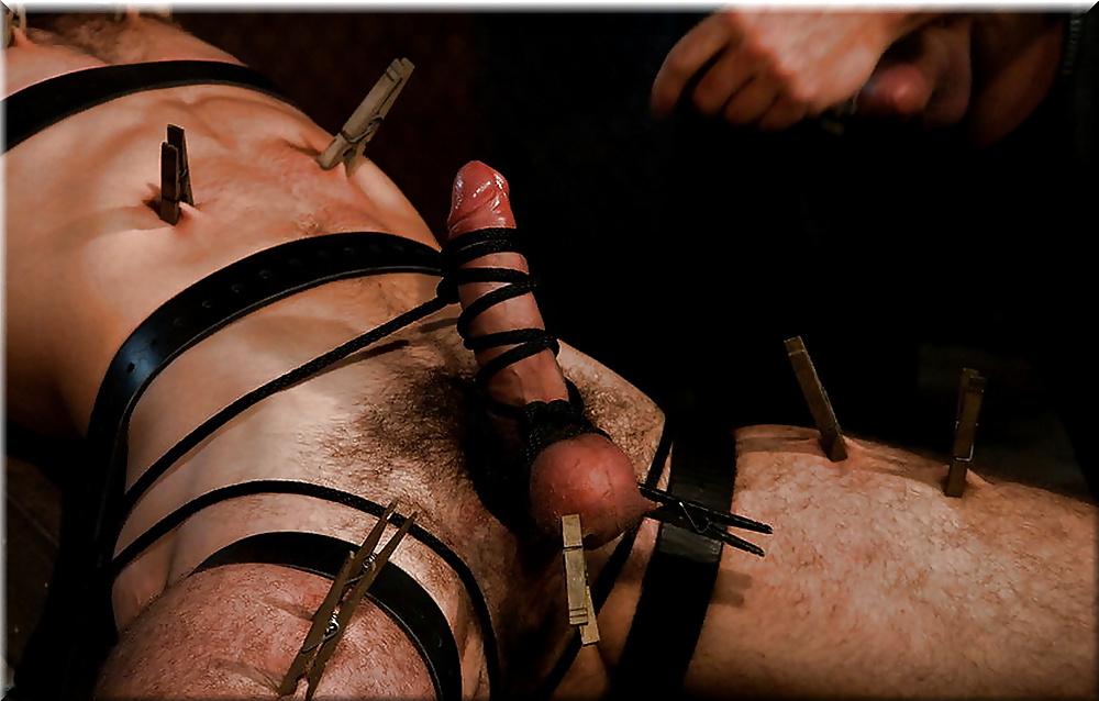 Anal enema tied bondage torture
