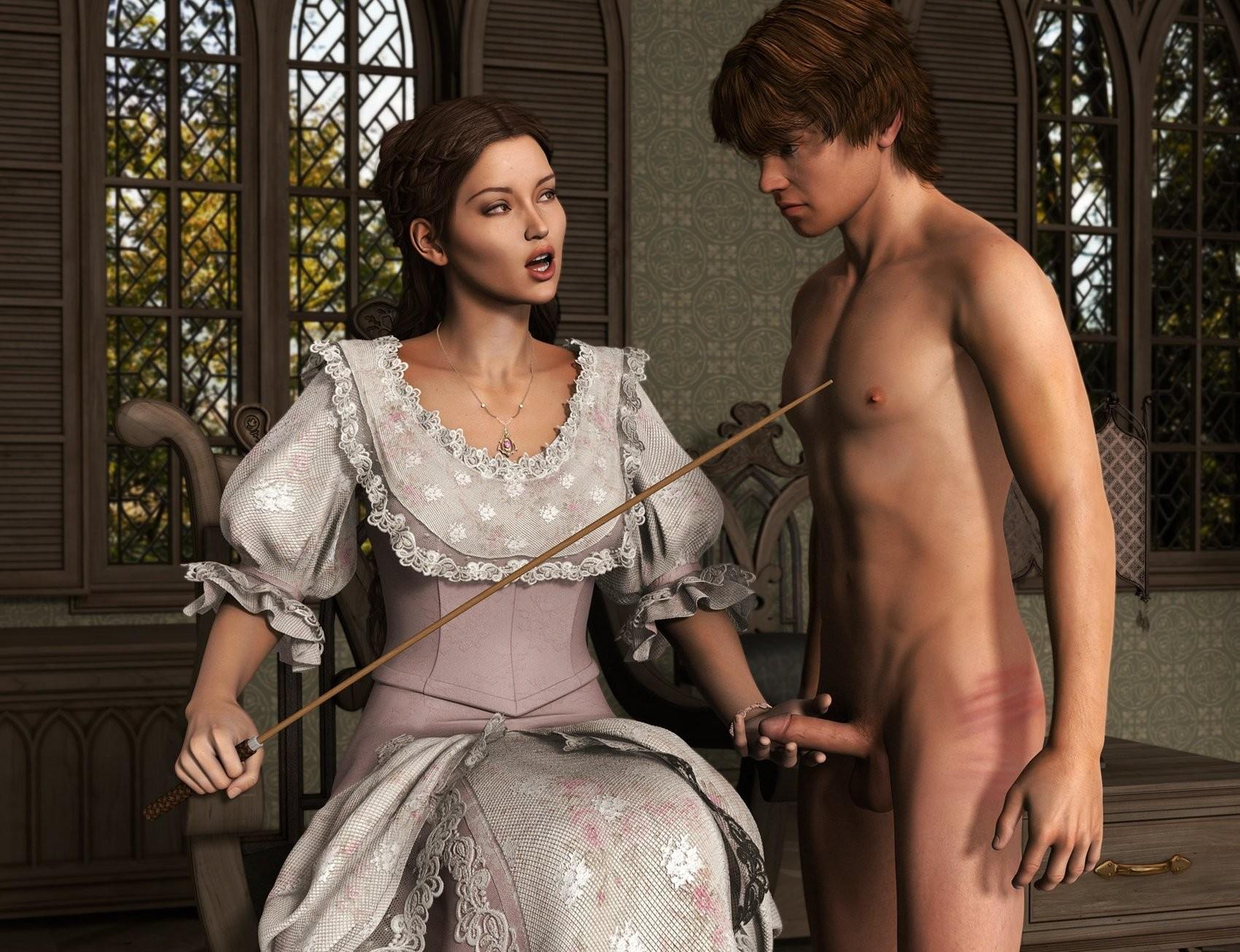 Women spanking males